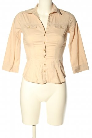 H&M Hemd-Bluse creme Casual-Look