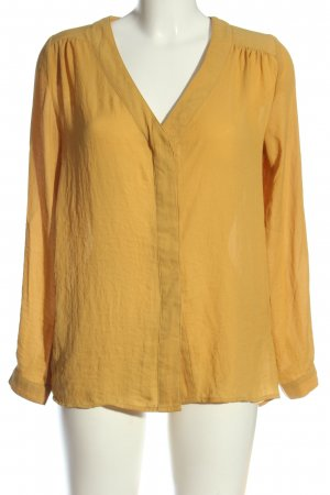 H&M Hemd-Bluse hellorange Casual-Look