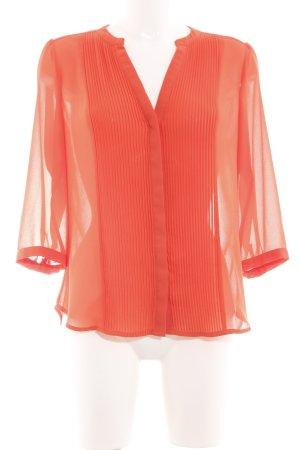 H&M Hemd-Bluse hellorange Business-Look