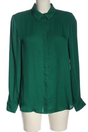 H&M Hemd-Bluse grün Business-Look