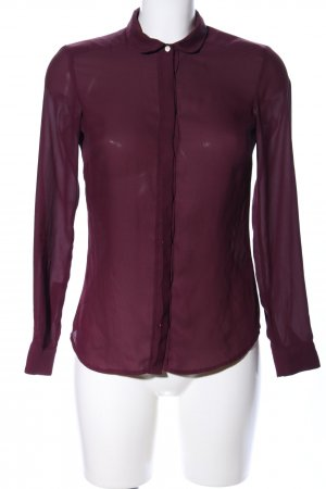 H&M Hemd-Bluse lila Casual-Look