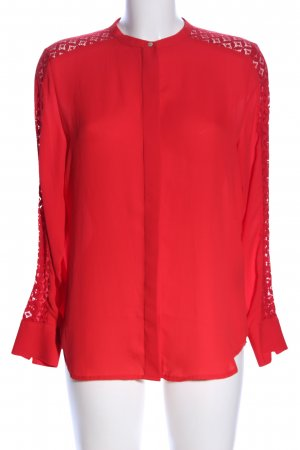 H&M Shirt Blouse red business style