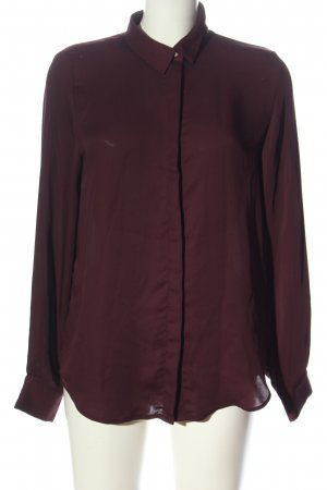 H&M Hemd-Bluse rot Business-Look