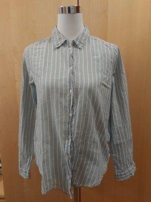 H&M Hemd gestreift mint weiß