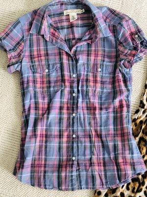 H&M Camicia a maniche corte azzurro