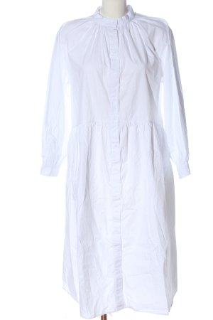 H&M Koszulowa sukienka biały W stylu casual