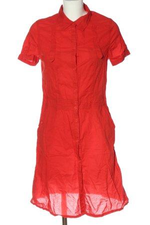 H&M Hemdblusenkleid rot Casual-Look