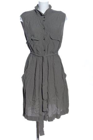 H&M Shirtwaist dress light grey business style