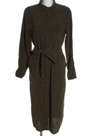 H&M Hemdblusenkleid khaki Elegant