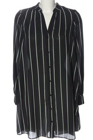 H&M Hemdblusenkleid Streifenmuster Business-Look
