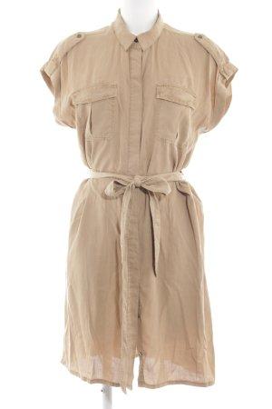 H&M Hemdblusenkleid nude Casual-Look