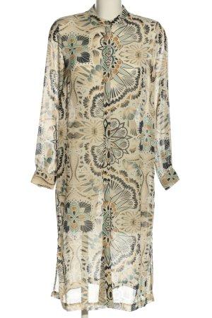 H&M Koszulowa sukienka Abstrakcyjny wzór W stylu casual