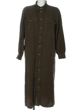 H&M Robe chemise kaki style décontracté