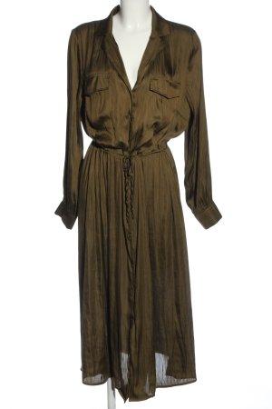 H&M Robe chemise brun style décontracté