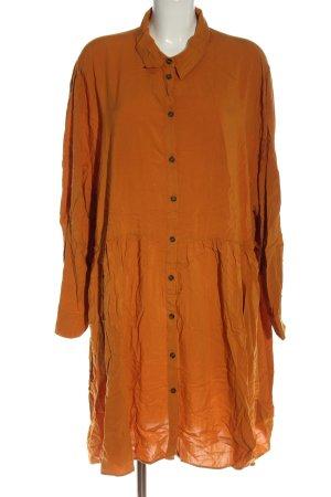 H&M Robe chemise orange clair élégant