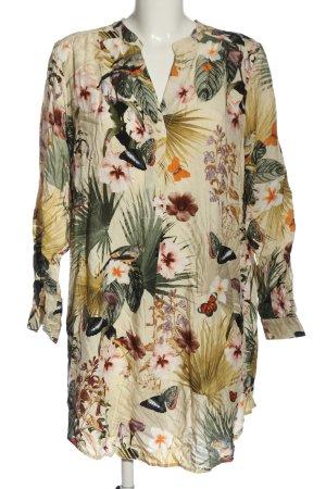 H&M Hemdblusenkleid Allover-Druck Casual-Look