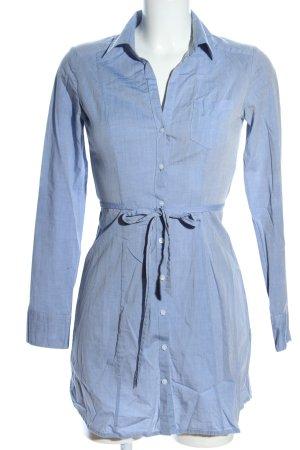 H&M Robe chemise bleu moucheté style décontracté