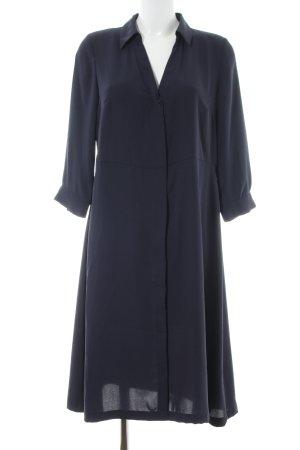 H&M Hemdblusenkleid blau Business-Look