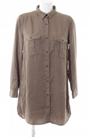 H&M Hemdblusenkleid braun Casual-Look