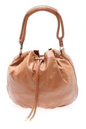 H&M Torebka z rączkami brązowy W stylu casual