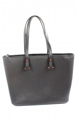 H&M Henkeltasche schwarz Elegant