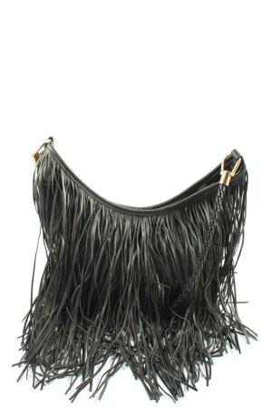 H&M Borsa con frange nero stile casual