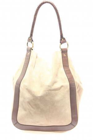 H&M Carry Bag natural white-brown casual look
