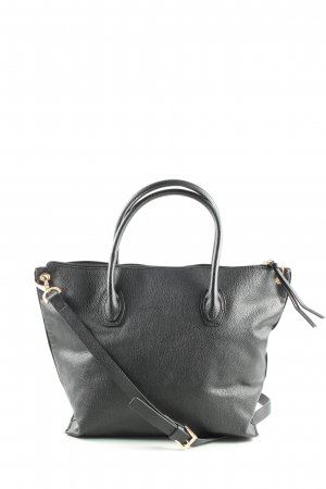 H&M Henkeltasche schwarz Business-Look