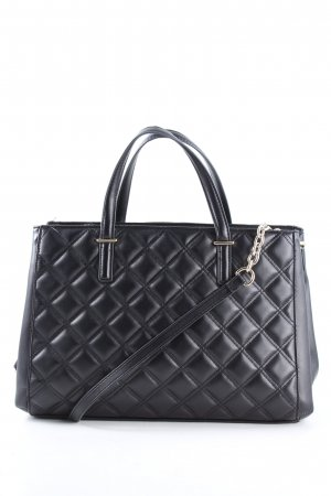 H&M Henkeltasche schwarz Steppmuster Business-Look