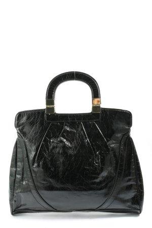 H&M Henkeltasche schwarz Casual-Look