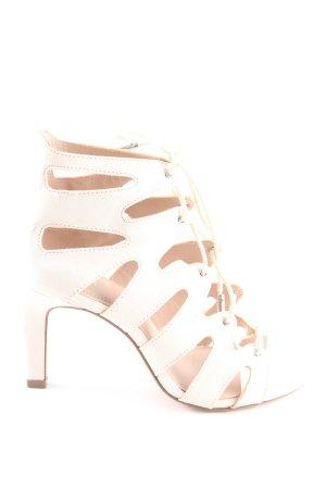 H&M High Heel Sandaletten creme Casual-Look