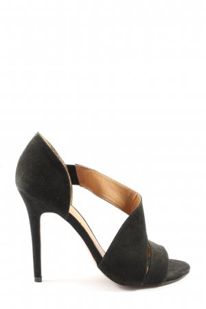 H&M High Heel Sandaletten schwarz Business-Look