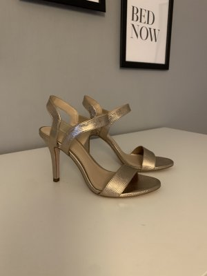 H&M high heel Sandaletten gr.36 Gold