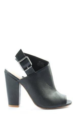 H&M High Heels schwarz Casual-Look