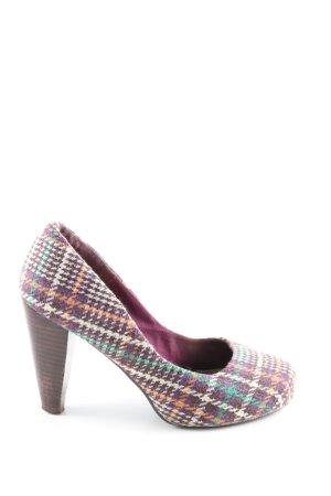 H&M High Heels Karomuster Casual-Look