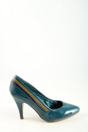 H&M High Heels türkis Casual-Look