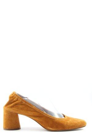 H&M High Heels hellorange Casual-Look