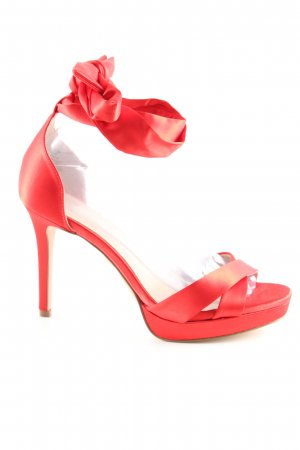 H&M High Heels rot Casual-Look