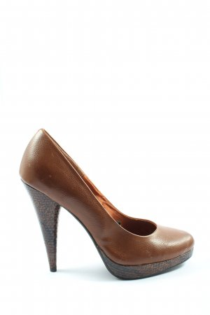 H&M High Heels braun Casual-Look