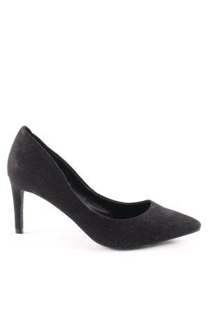 H&M High Heels schwarz Business-Look