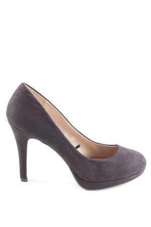 H&M High Heels lila Business-Look