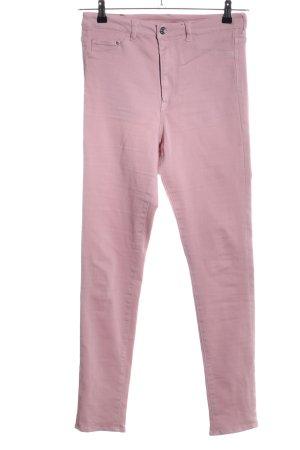 H&M High-Waist Hose pink Casual-Look