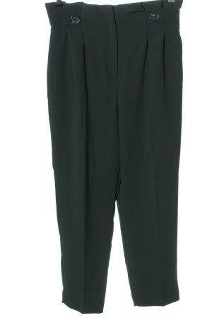 H&M Hoge taille broek groen zakelijke stijl