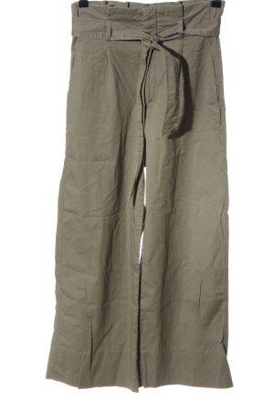 H&M High-Waist Hose khaki Casual-Look