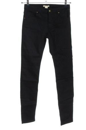 H&M Hoge taille broek blauw casual uitstraling