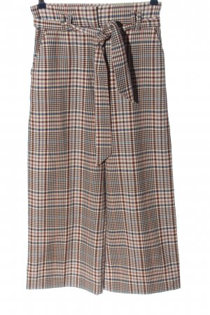 H&M High Waist Trousers check pattern casual look
