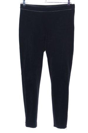 H&M Hoge taille broek zwart casual uitstraling