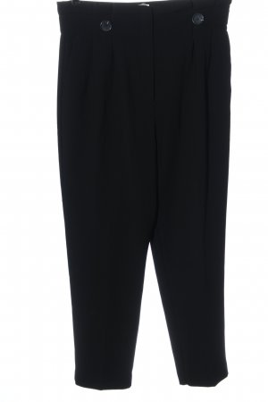 H&M Hoge taille broek zwart zakelijke stijl