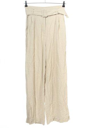 H&M High-Waist Hose creme Casual-Look