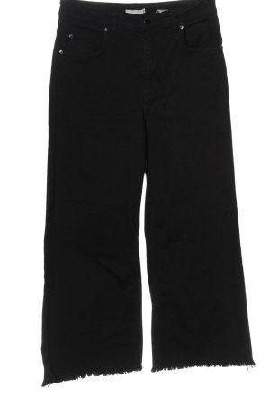 H&M High-Waist Hose schwarz Casual-Look